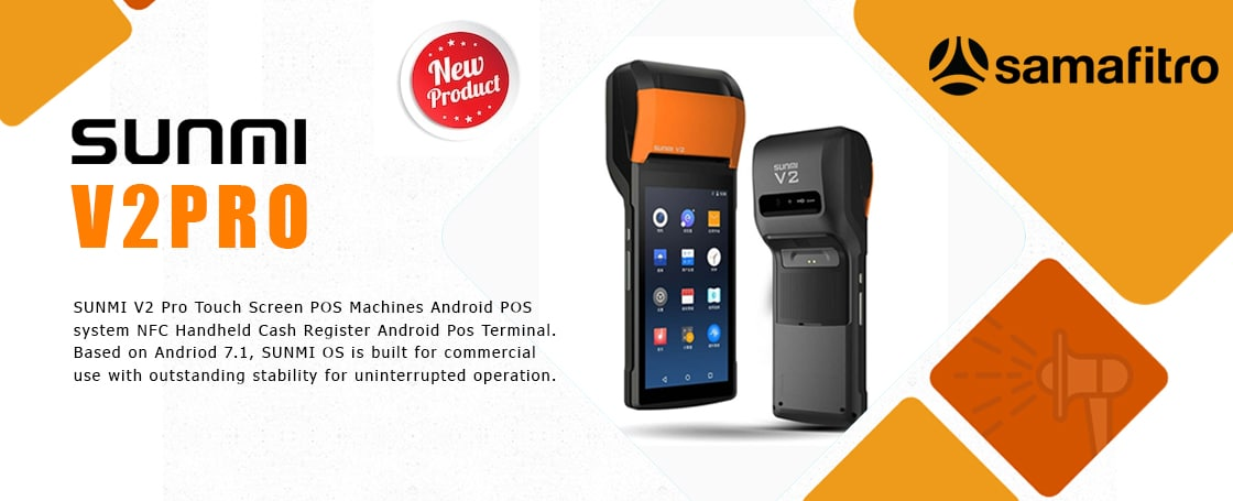 SUNMI V2 Pro Touch Screen POS Machines Android POS